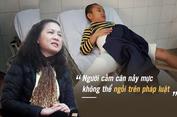 Học sinh gãy chân ở trường Nam Trung Yên