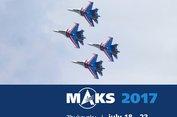 Triển lãm hàng không MAKS 2017 tại Nga