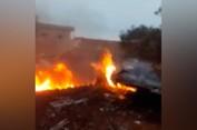 Su-25 Nga bị bắn rơi tại Syria