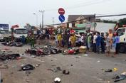 Tai nạn thảm khốc ở Long An
