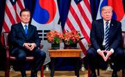 """Tổng thống Mỹ và Hàn Quốc ký kết hiệp định thương mại """"công bằng và có đi có lại"""""""