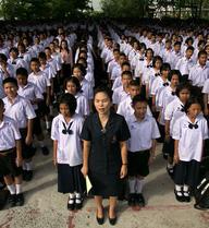 Thái Lan: Trường học như quân đội