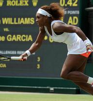 Đơn nữ Wimbledon ngày thứ 4: Serena đang tăng tốc