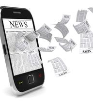 Smartphone đang 'giết' thói quen đọc tin