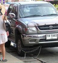 Hình ảnh độc nhất vô nhị chỉ có ở Thái Lan