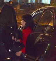 Trương Phương lái ô tô gần 2 tỷ đi dự tiệc