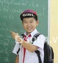 Ngọc Duy nhỏ bé, tinh nghịch nhất lớp học