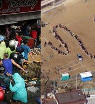 Philippines và Nhật Bản sau thảm họa: Nơi cướp bóc, chỗ xếp hàng