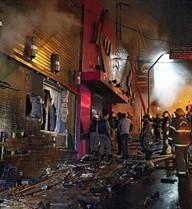Braziil: Vụ cháy hộp đêm kinh hoàng qua lời kể của người sống sót