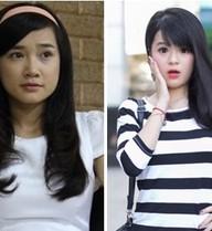 """Hot girl Nhã Phương và Hà Đan """"tranh giành"""" chàng Kim Tan"""