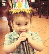 Hình ảnh cực yêu của con gái MC Thành Trung