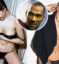 Cô bồ quyến rũ của Carew khoe ngực trần trên tạp chí cho đàn ông