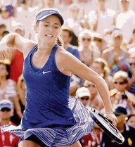 Tay vợt nữ tuổi 15 gây xôn xao làng banh nỉ