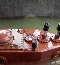 ẢNH: Đoàn Bộ Quốc phòng xem tàu ngầm Trường Sa thử nghiệm