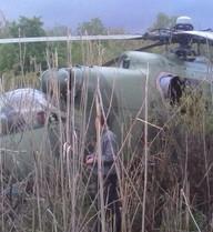 ẢNH: Cận cảnh trực thăng Mi-24 Ukraine vừa bị bắn hạ ở Slavyansk
