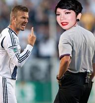 Phá hoại danh tiếng David Beckham, Xuân Lan có thể bị kiện