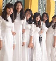 5 trường ở Hà Nội 'cứ vào là gặp girl xinh'