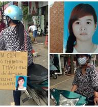 Mẹ đeo bảng tìm con gái 9X khắp phố Sài Gòn