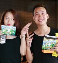 JustaTee đưa bạn gái xinh xắn đi xem phim Doraemon