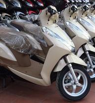 Honda Lead 125 màu vàng nhạt đắt khách ở Việt Nam