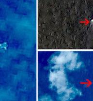 Không phát hiện vật thể lạ như ảnh chụp từ vệ tinh Trung Quốc