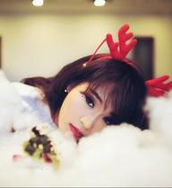 Hình ảnh Giáng sinh dễ thương của hot girl Nhật ký Vàng Anh