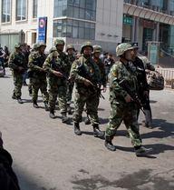 Tấn công bằng dao ở Tân Cương, 5 cảnh sát TQ thiệt mạng