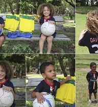 Ngỡ ngàng với 2 cậu bé giống hệt Thiago Silva và David Luiz
