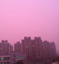 24h qua ảnh: Dân TQ hoang mang vì sương mù hồng phủ kín bầu trời