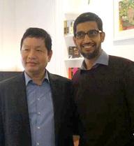 Màn đối thoại độc đáo giữa Chủ tịch FPT và CEO Google