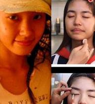 """Những hình ảnh làm """"mất niềm tin"""" vào nhan sắc hot girl Việt"""