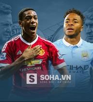 Man United vs Man City: Nhuộm xanh Old Trafford?