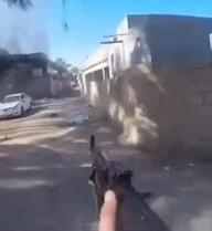 Chiến binh IS tự quay thời khắc cuối của cuộc đời