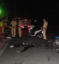 Quái xế say rượu, bốc đầu xe gây tai nạn kinh hoàng