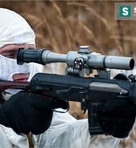 [VIDEO] Lính bắn tỉa Nga tung hoành trong tuyết trắng