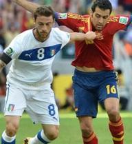 Box TV: Xem TRỰC TIẾP Italia vs Tây Ban Nha (23h00)