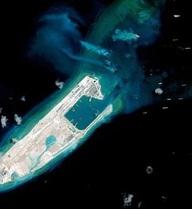 Mỹ: Trung Quốc đặt thiết bị quân sự trên các đảo nhân tạo ở Biển Đông