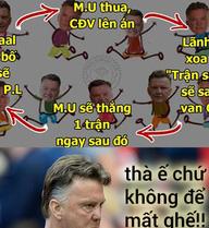 Lật tẩy chiêu trò giữ ghế tại Man United của Van Gaal