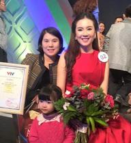 Hot girl Mai Ngọc VTV rất xinh đẹp và đây là mẹ cô ấy