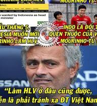 Tiết lộ: Mourinho vội đến Man United vì lo sợ... Việt Nam