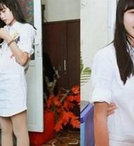 Con gái Hiệp Gà 12 tuổi mặt xinh, chân dài như mẫu