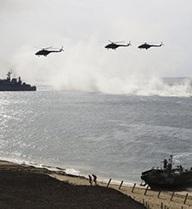 """Tập trận lớn, Nga gửi thông điệp """"không từ bỏ Crimea"""""""