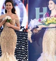 Vì sao Á hậu Huyền My chưa chúc mừng Tân Hoa hậu Đỗ Mỹ Linh?