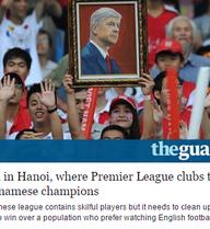 Báo Anh bất ngờ viết bài… chê bai hết lời bóng đá Việt Nam