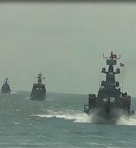 Lữ đoàn 171, Vùng 2 Hải quân diễn tập bắn đạn thật trên biển