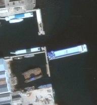 Ảnh vệ tinh hé lộ cung điện nổi của Kim Jong-un?