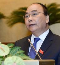 Bài phát biểu nhậm chức của Thủ tướng Nguyễn Xuân Phúc