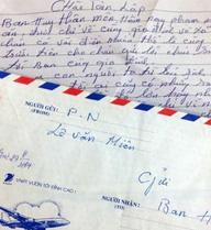 Lá thư xúc động bố Lê Văn Luyện gửi cán bộ trại giam