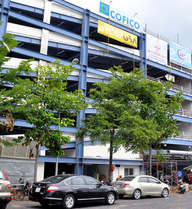 Cận cảnh nhà giữ xe 5 tầng có hệ thống chữa cháy tự động ở sân bay Tân Sơn Nhất
