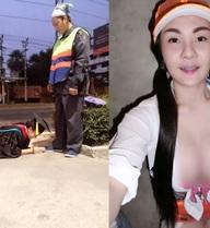 """Hot girl Thái từng quỳ lạy mẹ bị tố """"làm màu"""" do lộ ảnh khoe thân"""